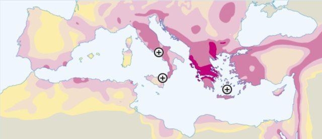 Aardbevingsrisicogebieden