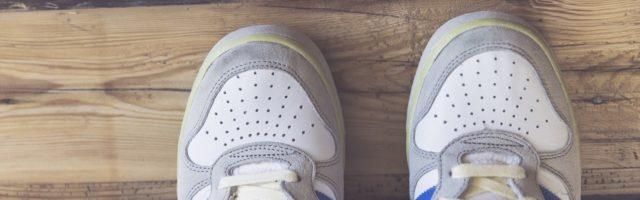 bewegingsonderwijs sportschoenen wit