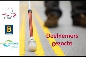 flyer voor oproep participatieonderzoek zien en gezien worden