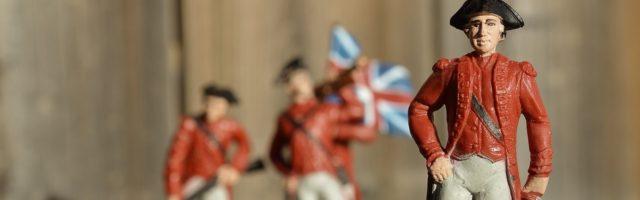geschiedenis poppetjes van 17e eewse soldaten
