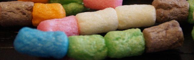 handvaardigheid kleurige speelmais