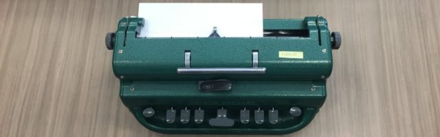 Perkins braillemachine