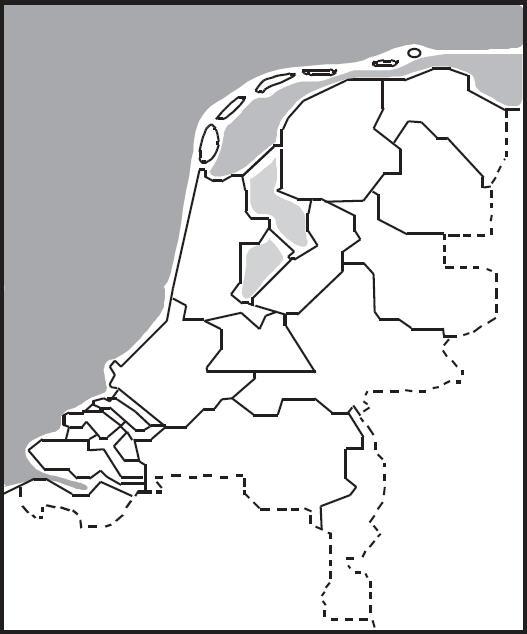 aardrijkskunde kaarten nederland en provincies eduvip